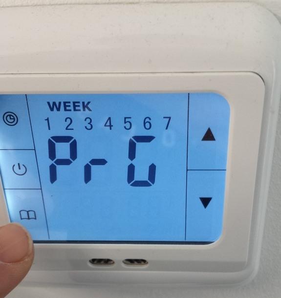 Austausch eines Bimetall Thermostat zur Einzelraumsteuerung einer ...